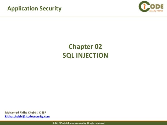 Application Security                                                                    Security Verified                 ...