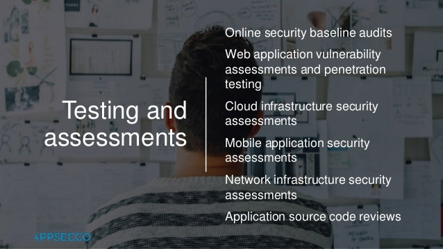 Appsecco Services Overview 2018 Slide 3