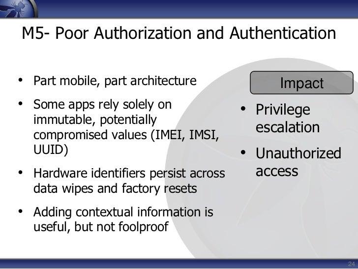 Weighted utilizing the OWASP Risk Rating Methodology