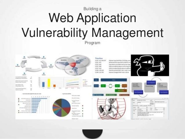 Building a  Web Application Vulnerability Management Program