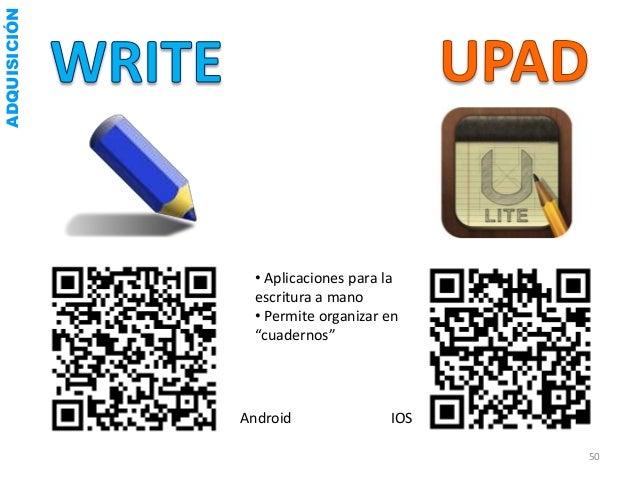 ADQUISICIÓN              • Aplicación de gestión de la información              • Guardar textos organizados por carpetas ...