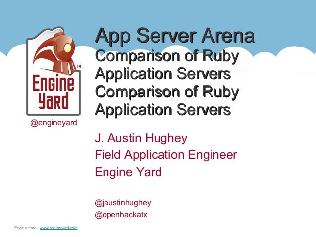 App Server Arena: A Comparison of Ruby Application Servers