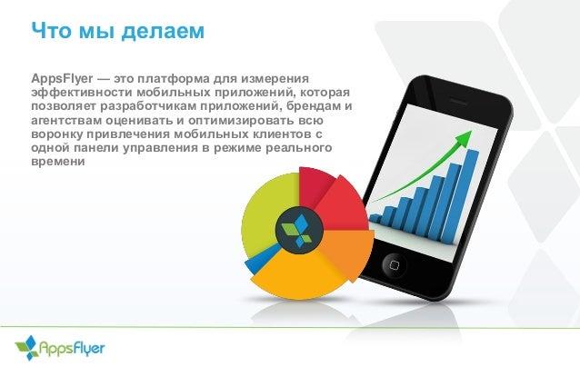 Что мы делаем AppsFlyer — это платформа для измерения эффективности мобильных приложений, которая позволяет разработчикам ...