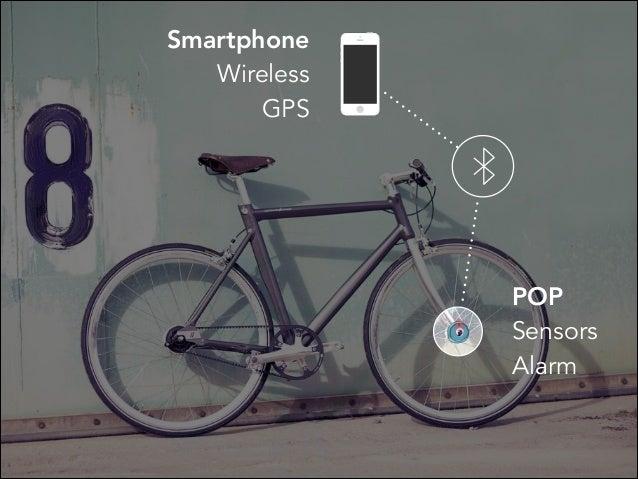 POP Sensors Alarm Smartphone Wireless GPS