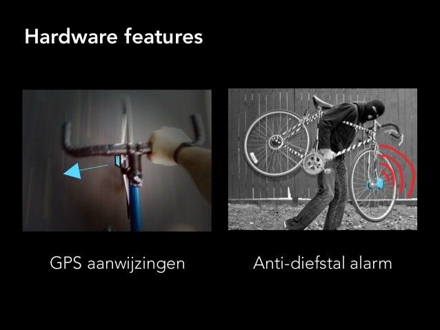 Hardware features GPS aanwijzingen Anti-diefstal alarm