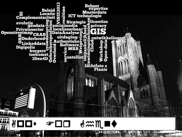 Apps Foq Ghent 2           Stad Gent - Stqategie  Coqdinati