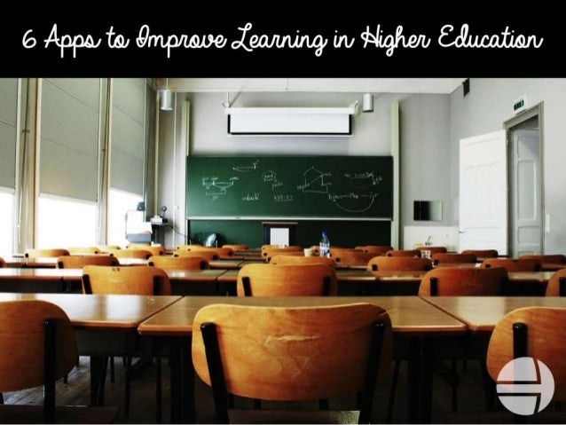 Classrooms are becoming more reliant on technology,  and these six apps use that to further learning in higher education. ...