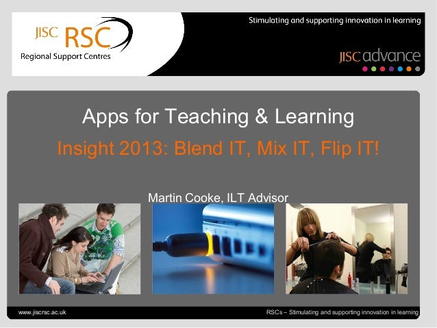 Go to View > Header & Footer to edit July 4, 2013 | slide 1 RSCs – Stimulating and supporting innovation in learning Apps ...