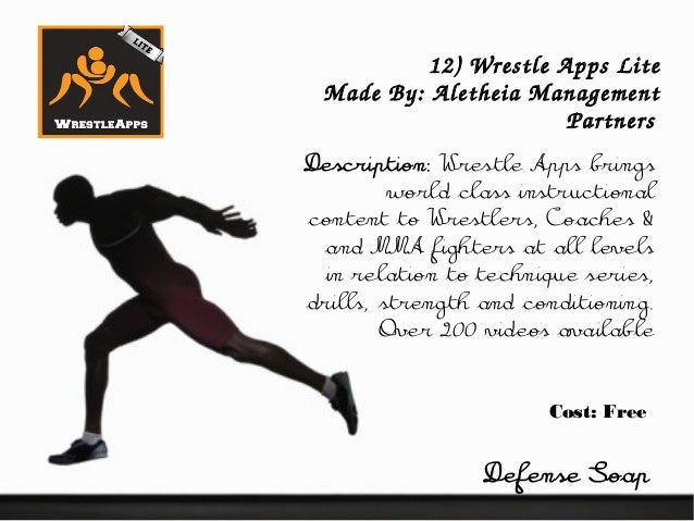 Apps for Wrestling Athletes