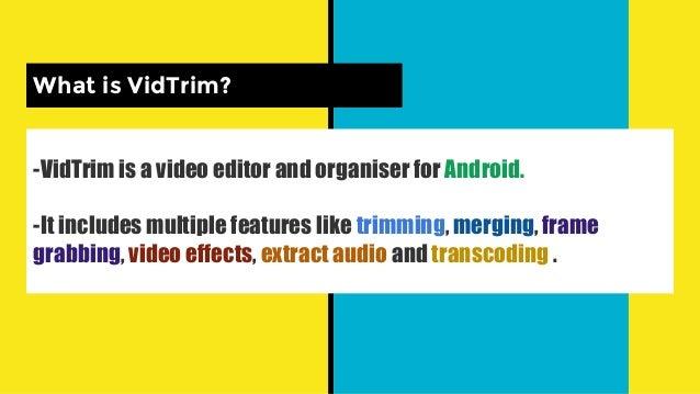 App Sharing Vidtrim