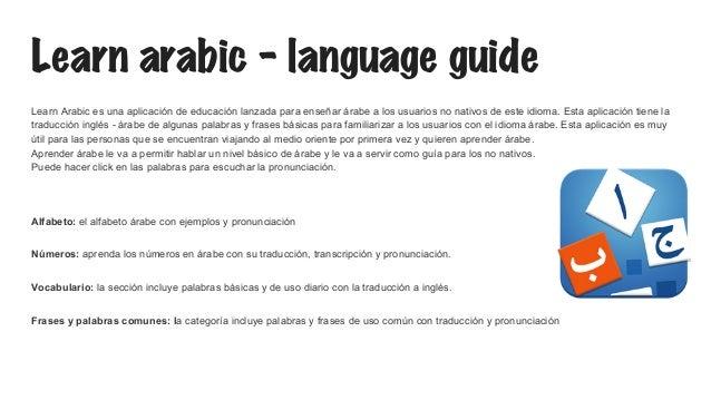 Apps Idioma Arabe