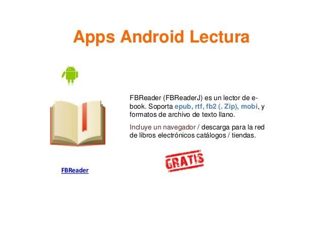 Aplicaciones Móviles De Lectura E Investigación