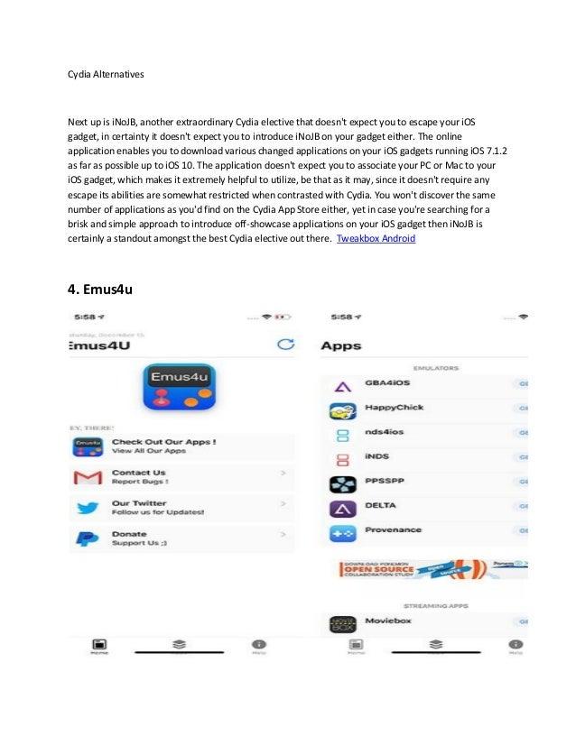 Apps like tweakbox