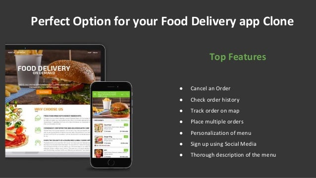 food delivery app like uber