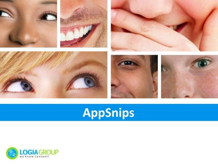 AppSnips<br />