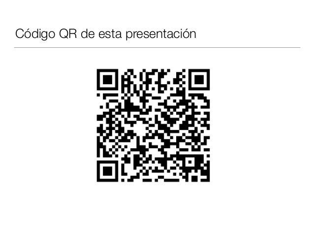 Código QR de esta presentación