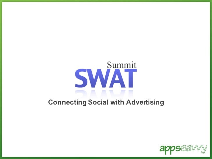 Connecting Social with Advertising