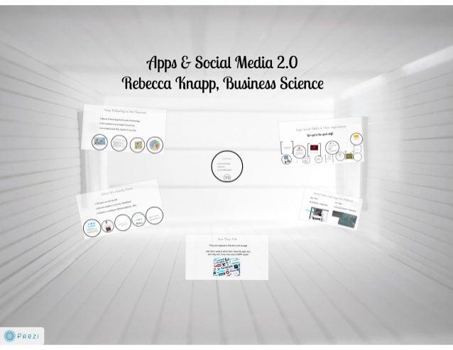 Apps & Social Media 2.0 - August 14, 2013