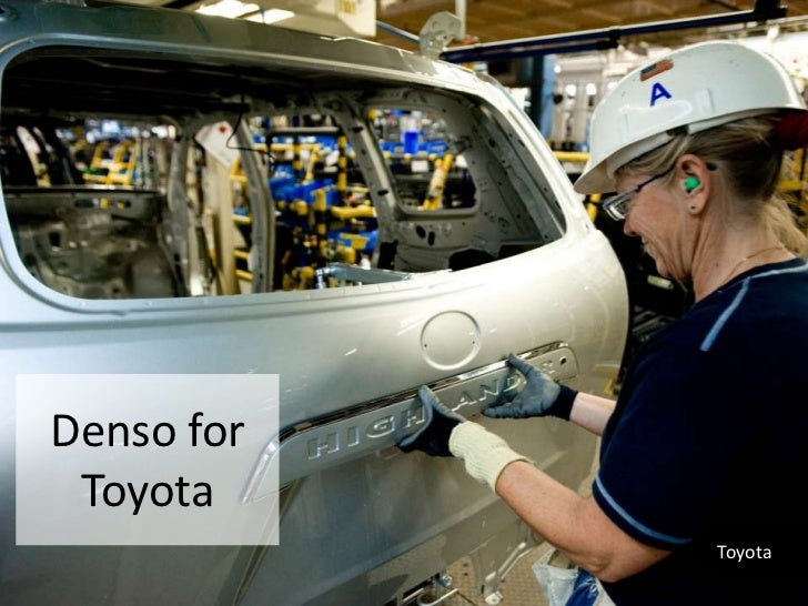 Denso for Toyota            Toyota