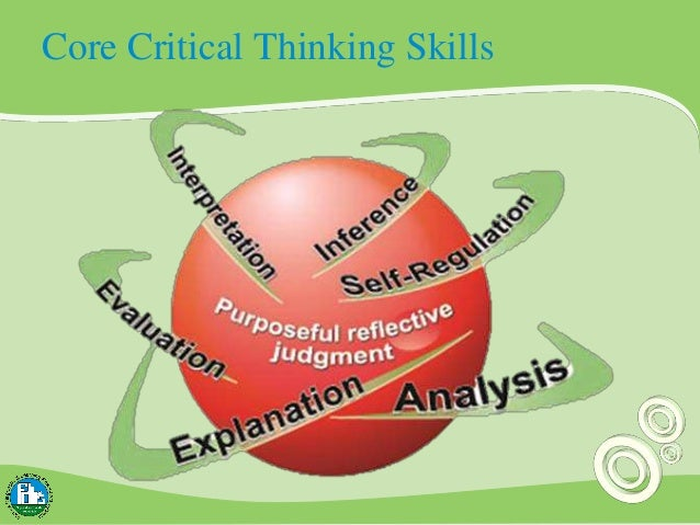 6 core skills of critical thinking Sufficient command of keyboarding skills to type a minimum of two pages in a single sitting critical thinking and the common core felicia vaughn.