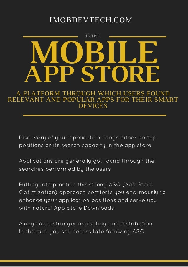 App Store Optimization(ASO): Get Easily Discovered On App Store Slide 2