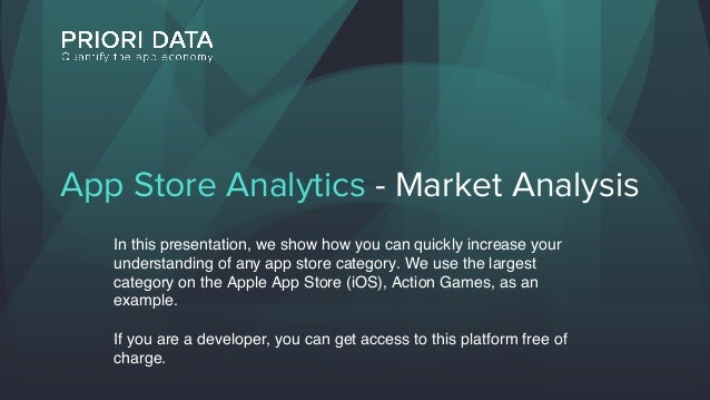 App Stores - Category Analysis (Apple App Store)