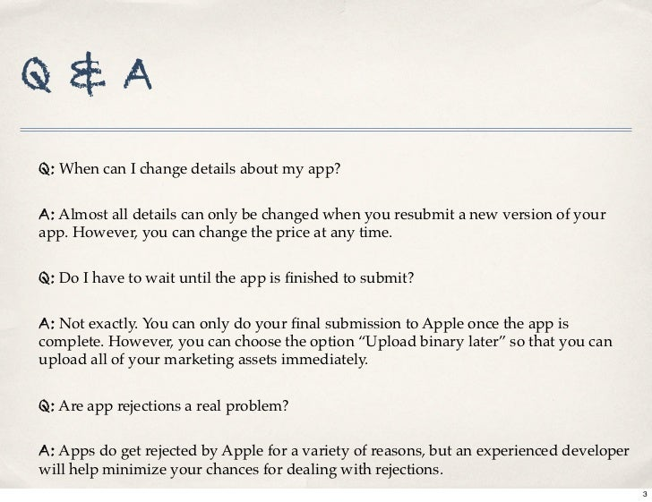 iPhone App Store submission process Slide 3