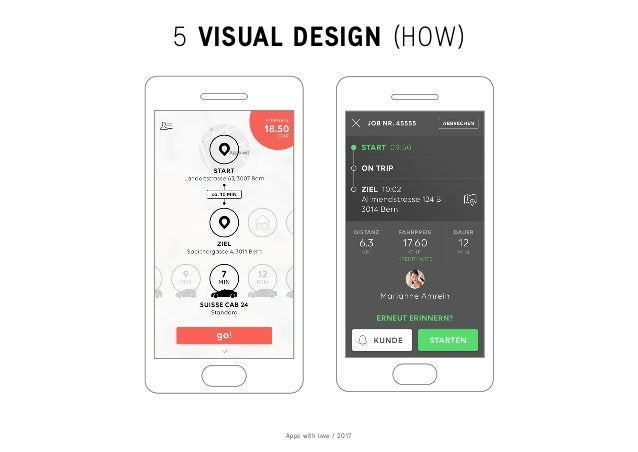 Apps with love / 2017 5 VISUAL DESIGN (HOW)