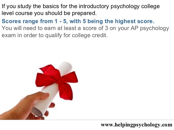 AP Psychology Exam Tips- AP Student