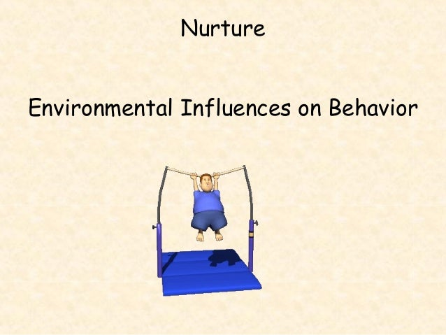 the influence of the environment in which children grow in to their behavior