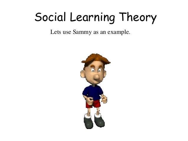 psychology social learning theory An exploration of contemporary advances in social learning theory with special  emphasis on the important roles played by cognitive, vicarious, and.