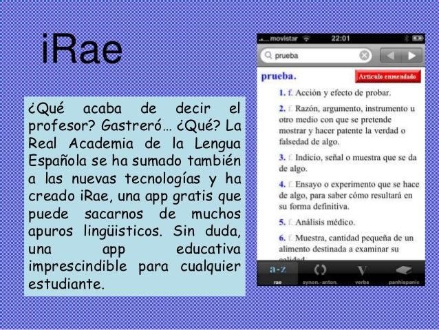 Resultado de imagen para iRAE app