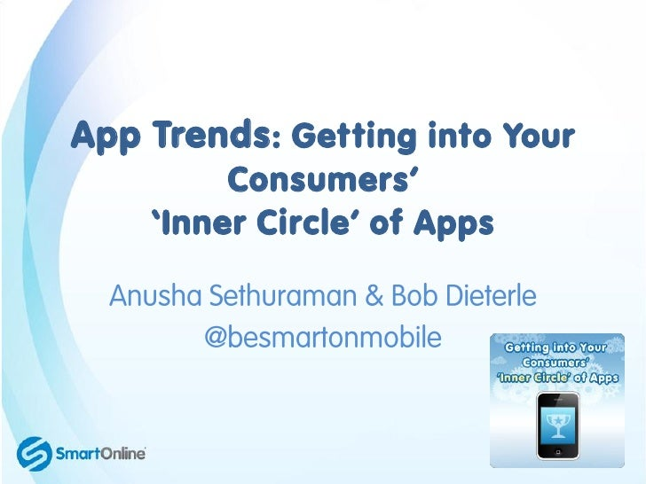 App Trends: Getting into Your         Consumers'    'Inner Circle' of Apps