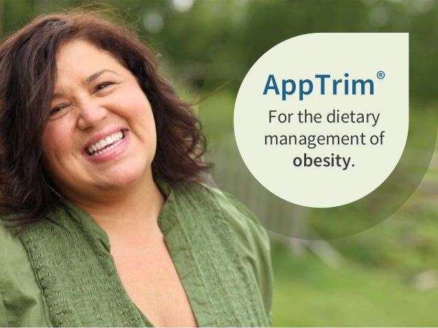 AppTrim® For the dietary management of obesity.