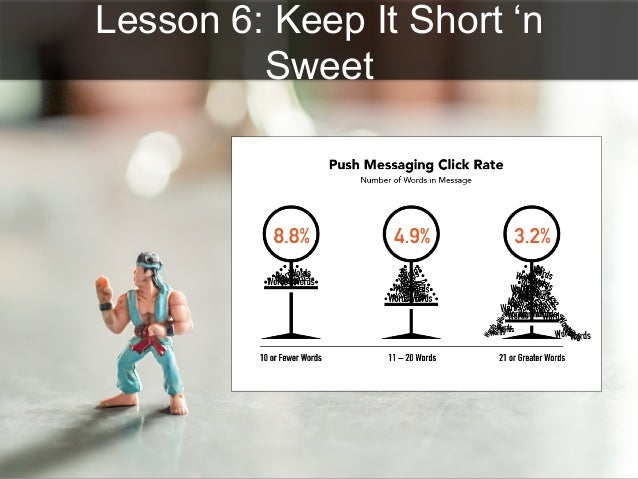 Lesson 6: Keep It Short 'n Sweet