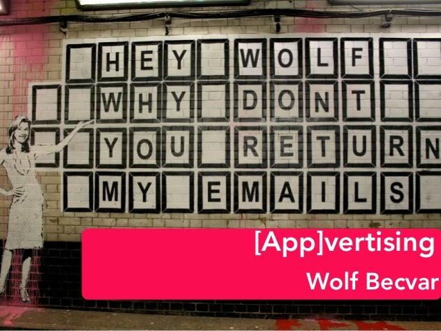 [App]vertising Wolf Becvar