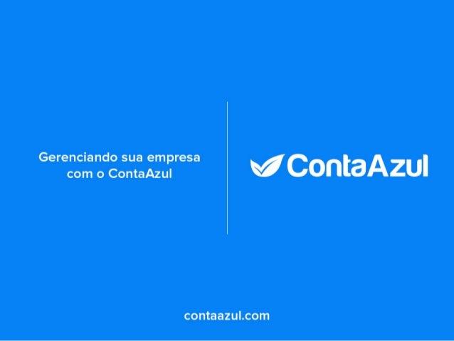 Gerenciando sua empresa com o ContaAzul
