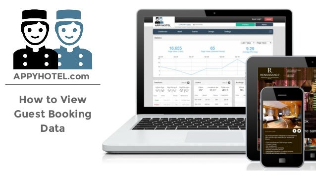 How to View Guest Booking Data APPYHOTEL.com