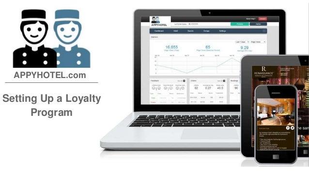 Setting Up a Loyalty Program APPYHOTEL.com