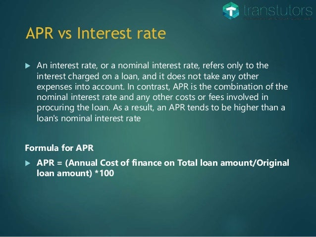 credit card interest vs apr