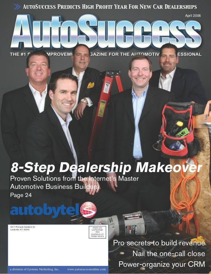 AutoSuccess Predicts High Profit Year For New Car Dealerships                                                              ...