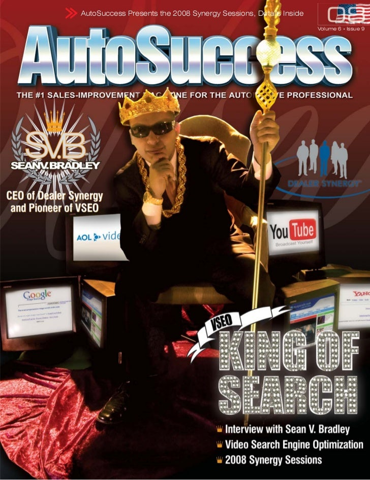 AutoSuccess Presents the 2008 Synergy Sessions, Details Inside                                                            ...