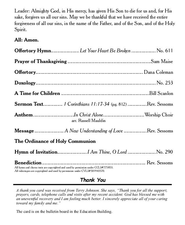 Sample Church Program Best Photos Of Template Of Church Church