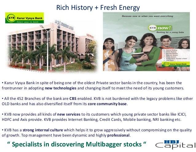 Karur Vysya Bank - Multibagger Stock Pick
