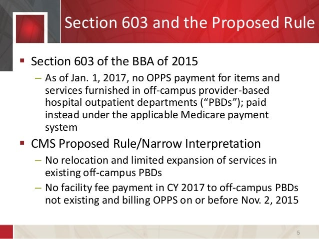 a practical assessment of cms's changes to provider-based reimburseme…