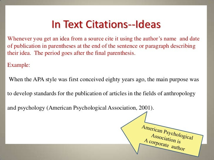 how to cite websites apa style Apa citation examples based on apa publication manual, 6th edition (2009) and style guide to electronic references (2012) some general rules in-text citations.