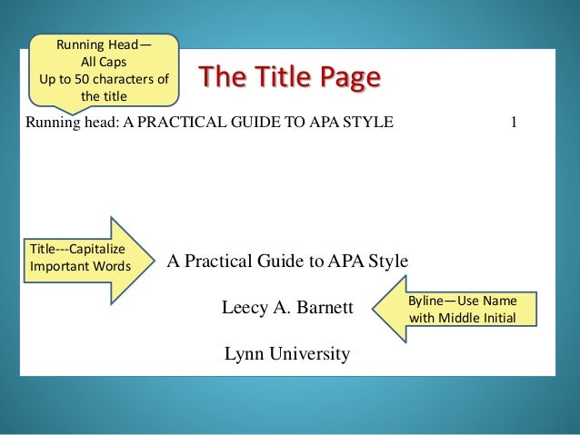 IIRP Graduate School Writing & APA Style Guidelines