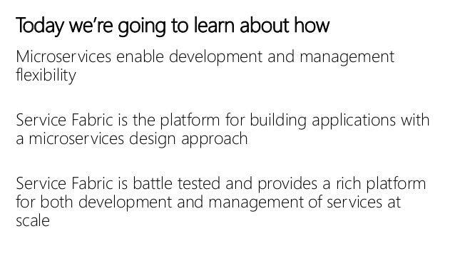 Stephane Lapointe, Frank Boucher & Alexandre Brisebois: Les micro-services et Azure Service Fabric (Global Azure Bootcamp 2016) Slide 3