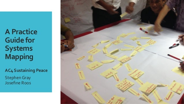 A  Practice   Guide  for   Systems   Mapping        AC4  Sustaining  Peace     Stephen  Gray  ...