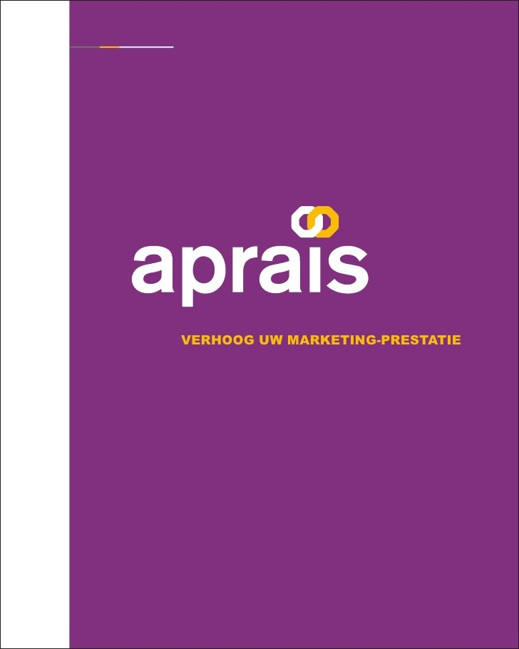 verhoog uw marketing-prestatie             www.aprais.com